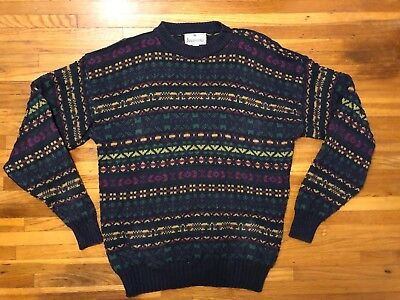 2c13ca4a2ef Aeropostale Vtg Sweater Compagnie Generale - Chunky Cotton Knit Made in USA  - XL