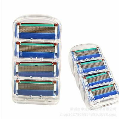 4PCS Replacement Blade Shaver 5 Layer Face Shaving Razor Blade