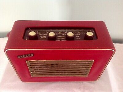 Herald Hacker Radio RP10 in Excellent Condition For Age