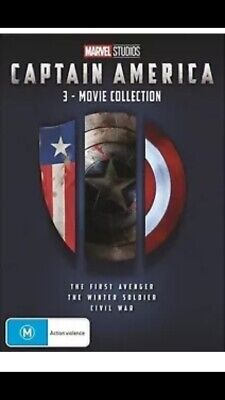 Captain America 3 Movie Collection - Brand New R4