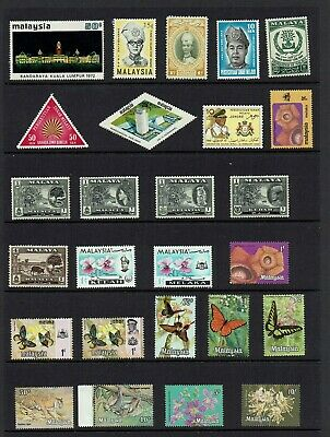 Malaya / Malaysia ....mint Stamp Collection