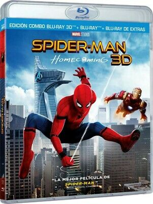 Spider-Man : Homecoming (Blu-Ray 3d + Blu-Ray + Extras)