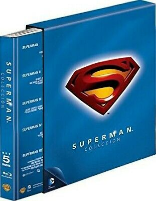 Pack Coleccion Superman (Blu-Ray) (Ed. Libro)
