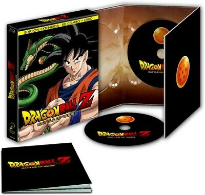 Dragon Ball Z : Battle Of Gods (Blu-Ray + Dvd + Libro) (Ed. Extendida) (Doragon