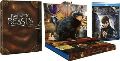 Animales Fantásticos Y Donde Encontrarlos (Blu-Ray 3d + Blu-Ray + Copia Digital)