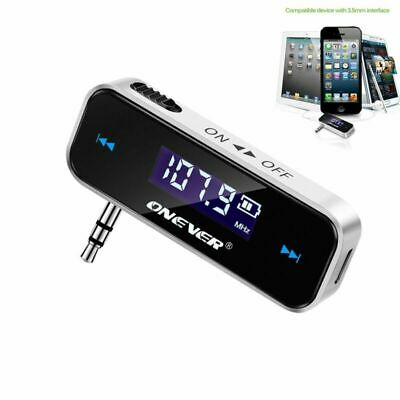 Wireless Handsfree FM Transmitter MP3 MP4 Player LCD Diaplay for iPhone iPod