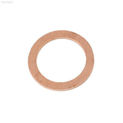 9E1D 20PCS/Pack Copper Washer Solid Gasket Sump Plug Oil Seal Fittings Kit