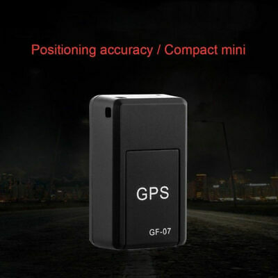 Car GPS Tracker Magnetic Vehicle Spy Mini Personal Tracking Locator Device GF-07