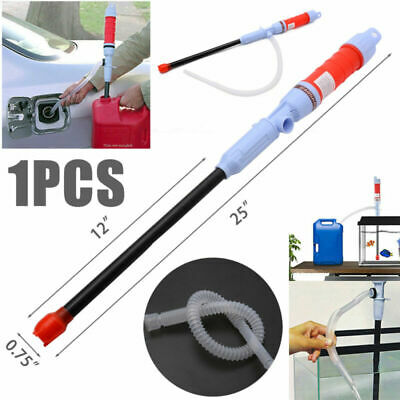 Electric Petrol Liquid Transfer Water Pump Siphon Battery Powerd Operated Supply