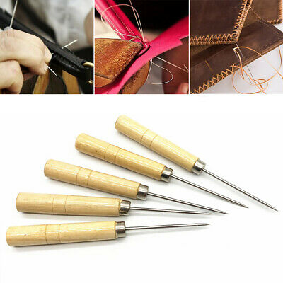 Canvas Leather Sewing Shoes Repair Tool Awl Stitching Needle Craft Supplies New