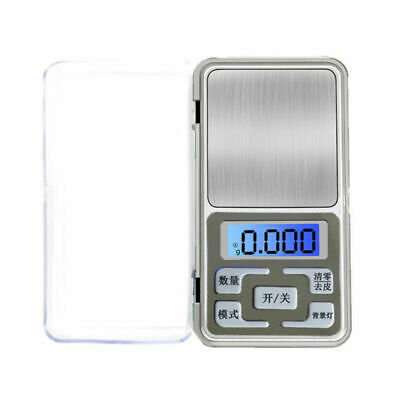 Pocket Digital Scales Jewellery Gold Weed Weighing Mini LCD Electronic 0.1g 500g