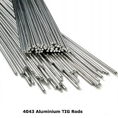 4043 Aluminium TIG Welding Rods Wire Filler 1.6mm 2.4mm 3.2mm 5% Silicone