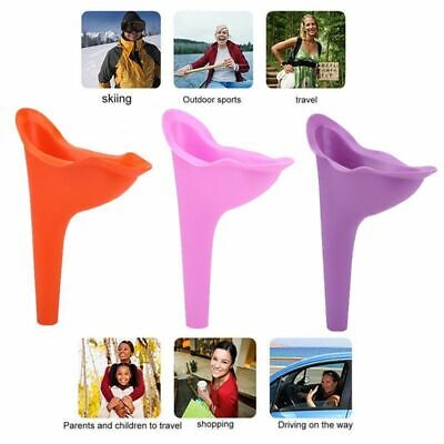 Women Female Ladies Portable Urinal Outdoor Travel Stand Up Pee Urination Device