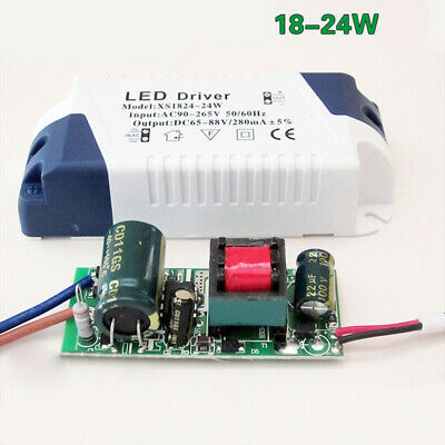 AC90~265V LED Driver 3~24W Power Supply Adapter For LED Lights 240mA Replacement