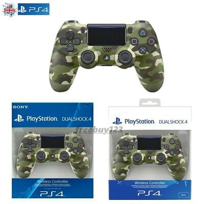 Official Dualshock 4 Controller (GREEN CAMO) (PS4) Brand New & Sealed
