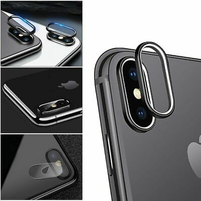For iPhone X Camera Lens Protective Tempered Glass Screen Film Protector Cover