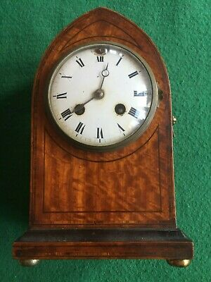 Antique Mantle Clock-Needs Attention/restoring, Medaille D'or,paris 1900, Monte