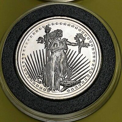 Walking Liberty Eagle Winchester Indiana 1/2 Troy Oz .999 Fine Silver Round Coin