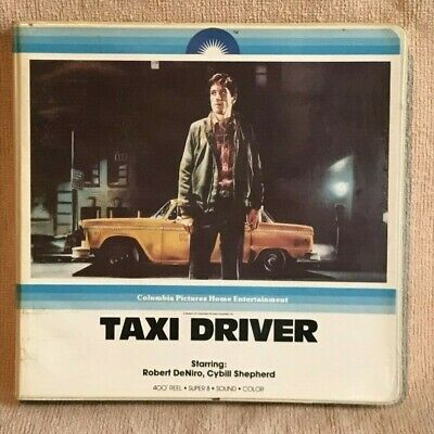 Taxi Driver with Robert DeNiro Super 8 Film by Columbia Picture in Original Pack