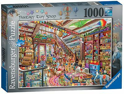 13983 Ravensburger The Fantasy Toy Shop Jigsaw Puzzle 1000 Piece Age 12 Years+