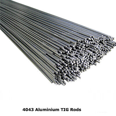 4043 Aluminium TIG Welding Rod Wire Filler 1.6MM 2.4MM 3.2MM 5% Silicone 1 Meter