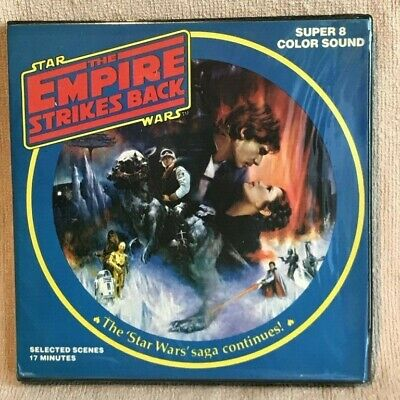 Star Wars: The Empire Strikes Back Super 8 Film in Original Packaging