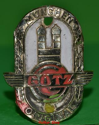 Vintage bicycle - plate   Manufacturers logo - GOTZ /1S 5067