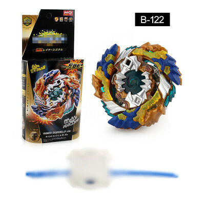 Beyblade Arena Burst B-122 BeyBlade Drain Fafnir With Launcher and Box AU Seller