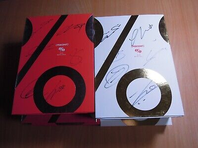 Apink - Percent (8th Mini promo) with Autographed (Signed)
