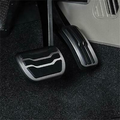 Stainless Steel Car Auto Truck Nonslip Brake Clutch Pedal Cover Set Foot Rest LA