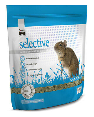 Supreme Science Selective Degu 350g Vets Recommend it