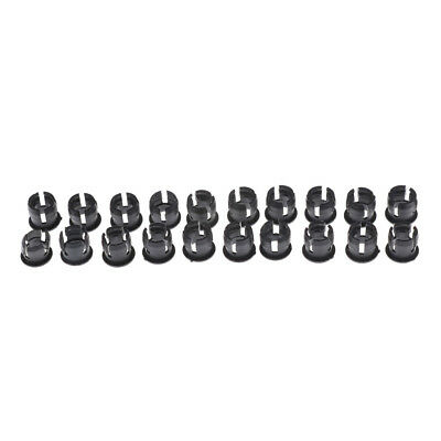 20PCS 5mm Black Plastic LED Holder Case Clip Display Panel  JP