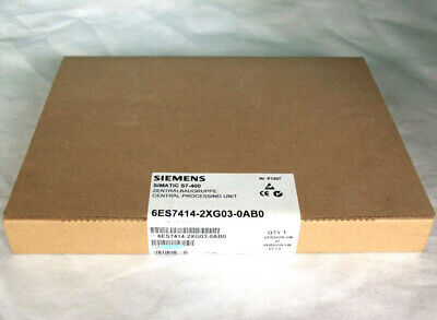 SIEMENS CPU 6ES7414-2XG03-0AB0 / 6ES7 414-2XG03-0AB0 Original New in Box NIB