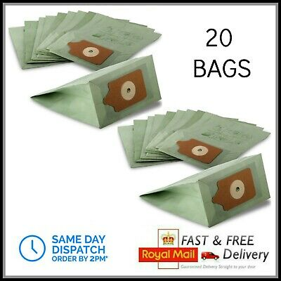 20 x PAPER DUST Bags fit Numatic Henry Hetty Hoover Vacuum Cleaner