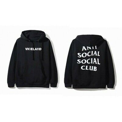 b22a153f8992 Viceland x ASSC Black Hoodie Medium Anti Social Social Club M (Special  Collab)