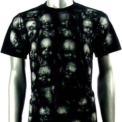 465fb2f88 Camiseta Rock Eagle XXL T-shirt Tattoo H. R. Giger Alien Shiroi Neko Hardy  rare