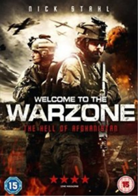 Nicolas Wright, Pascale Hutton-Welcome to the Warzone DVD NUEVO