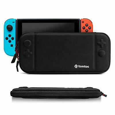 Tomtoc Nintendo Switch Slim Case Carrying Hard Case Pouch Cover Black New JP