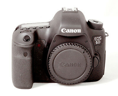 Canon EOS 6D 20.2MP Digital SLR Camera - Black (Body Only) mk i (mark one)