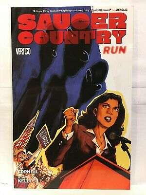 Saucer Country Volume 1 Run Paperback Graphic Novel Vertigo Comics 9781401235499