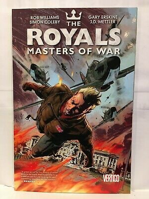 Royals Masters of War Paperback Graphic Novel Vertigo Comics 9781401250546