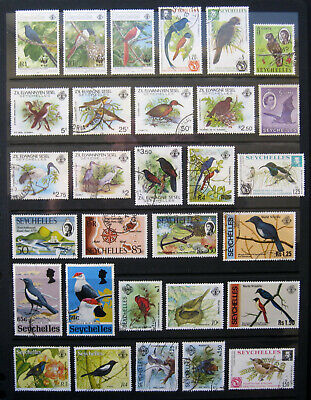 SEYCHELLES Birds etc. Large selection of stamps to high values, most used