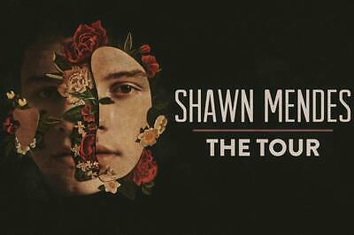 3X Shawn Mendes: The Tour Concert Ticket The O2 Arena London UK 16th April 2019