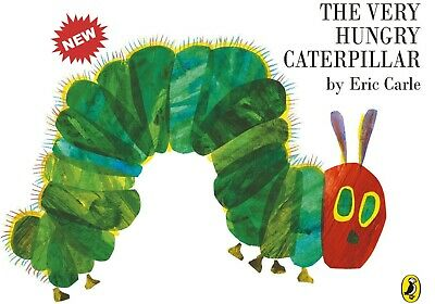 The Very Hungry Caterpillar [Board Book] by Carle, Eric Board book Kids Book NEW