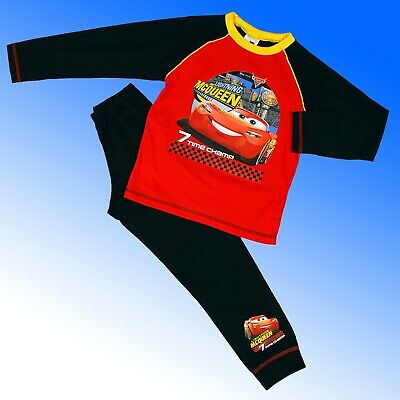 Boys Official Genuine Cars Lightning McQueen Pyjamas Age 2 3 4 5 6 7 Years