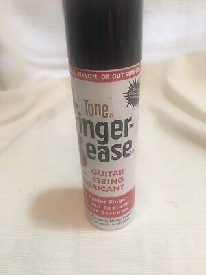 New old stock can of finger ease  guitar string lubricant