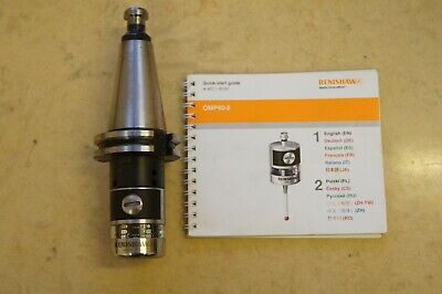 Renishaw OMP 40-2LS Optical Machine Probe with DIN 69871A, taper ISO 40