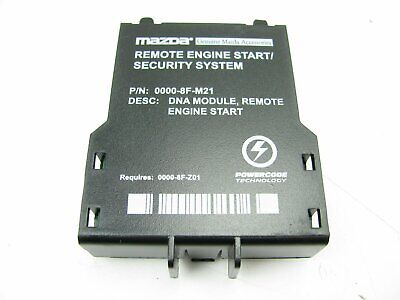 NEW Genuine Mazda Remote Start Immobilizer Interface Kit 0000-8F-H05A 2004-Up