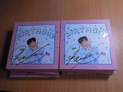 ROH TAE HYUN - biRTHday (1st Mini Promo) with Autographed