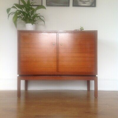 Mid Century Teak Greaves And Thomas Compact Sideboard Vintage Retro 70s
